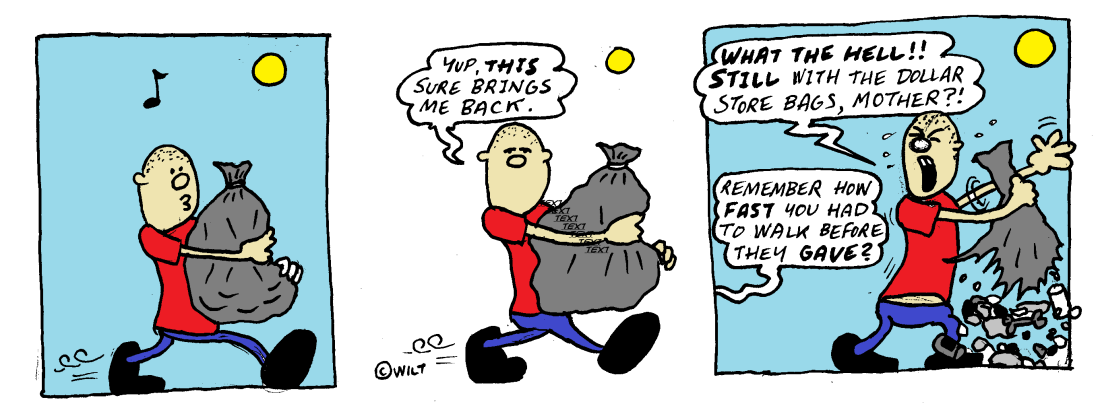 dollar store bags