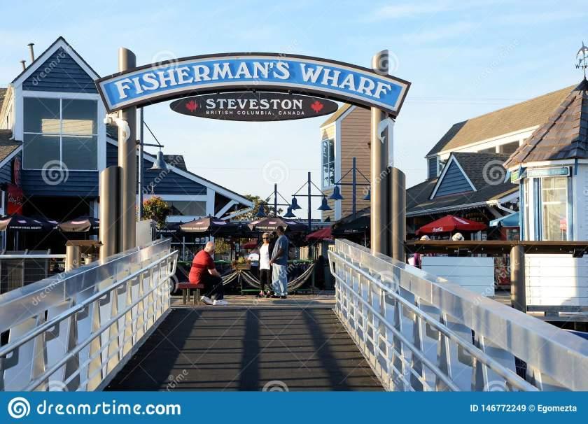 image-fisherman-s-wharf-steveston-village-richmond-bc-canada-fishermans-wharf-steveston-bc-146772249